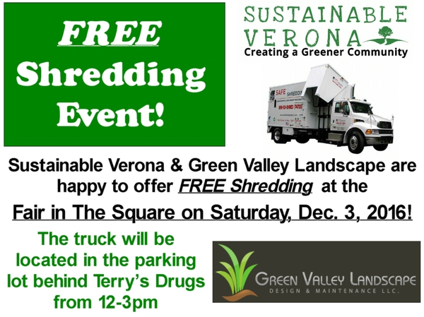 The Township of Verona New Jersey - FREE Shredding Event at Verona