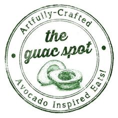 The Guac Spot Logo, links to website